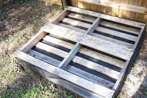 pallet to make a pallet garden